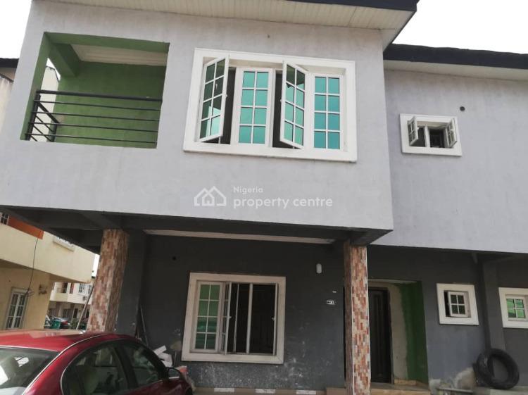 24/7 Fully Serviced Newly Built 4 Bedroom En-suite Duplex, Chevron, Lekki, Lagos, House for Rent