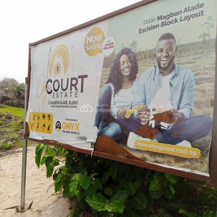 Onyx Court Estate, Eleko, Ibeju Lekki, Lagos, Residential Land for Sale