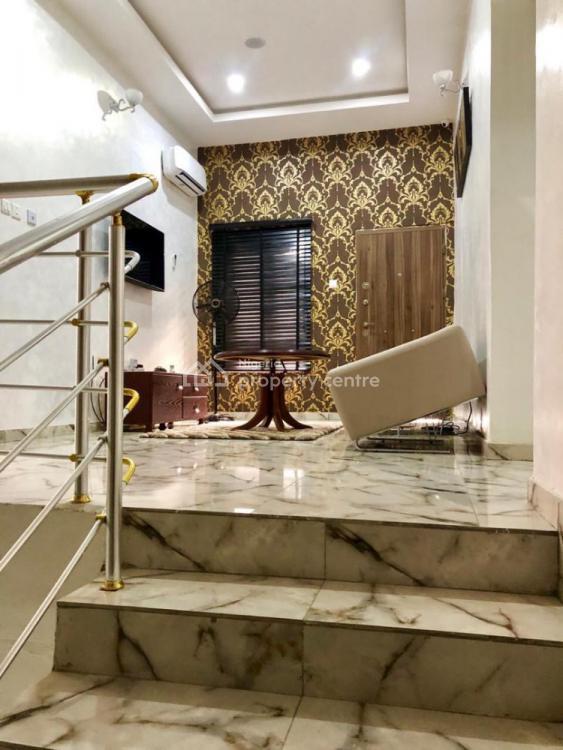 Luxury 4 Bedroom Semi Detached with Unlimited Wifi, Ologolo, Lekki Phase 2, Lekki, Lagos, Semi-detached Duplex Short Let