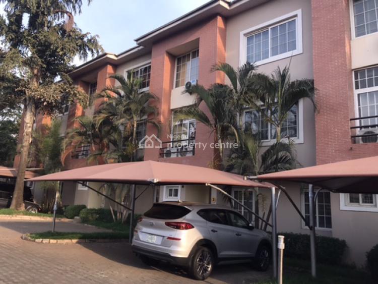 Stunning Serenity - 3 Bedroom Serviced Terrace Duplex with Bq, Off Alvan Ikoku Way, Maitama District, Abuja, Terraced Duplex for Rent