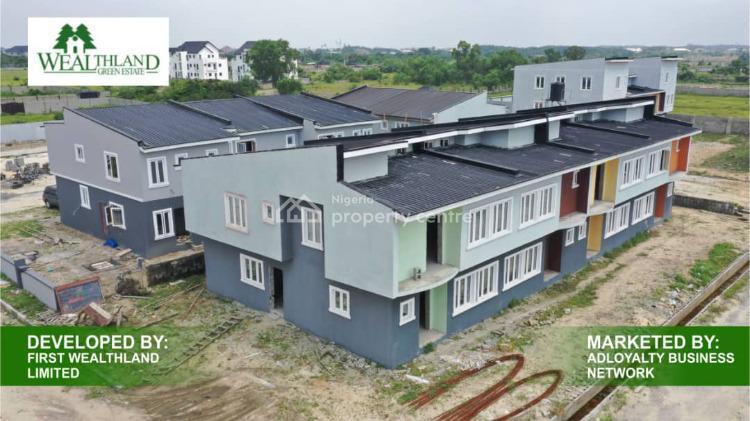 Luxury Finished 4 Bedroom, Wealthland Green Estate, Oribanwa, Ibeju Lekki, Lagos, Detached Duplex for Sale