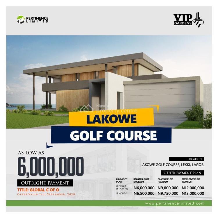 Global C of O, Golf Course Lekki, Lakowe, Ibeju Lekki, Lagos, Land for Sale