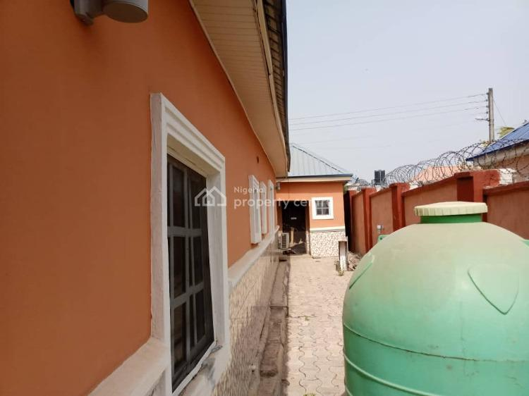 Spacious 4 Bedroom Bungalow with 1 Bedroom Bq, Trademore Estate, Lugbe District, Abuja, Detached Bungalow for Rent