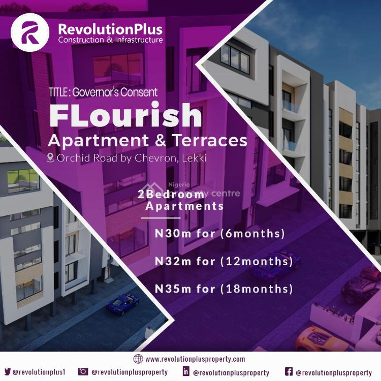 2 Bedroom Luxury Apartment, Flourish Residences, Orchid Road, Ikota, Lekki, Lagos, Block of Flats for Sale