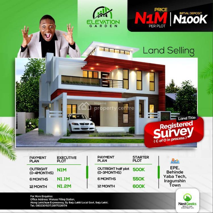 Land, Iragunshin Town, Elevation Gardens, Epe, Lagos, Mixed-use Land for Sale