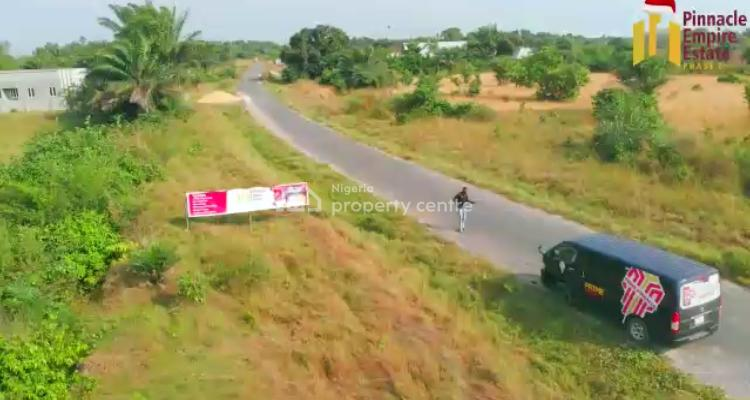 Topnotch Land with Good Topography in a Well Developed Area for Grabs., Few Minutes After La Campaigne Tropicana Beach Resorts, Owode-ise, Ibeju Lekki, Lagos, Land for Sale