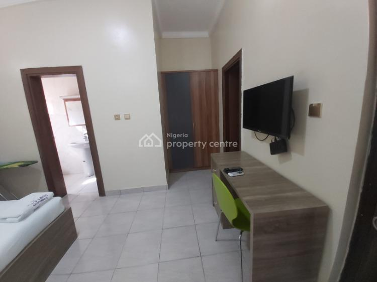 Fully Furnished and Serviced Luxury Studio Apartment, Off Olusegun Obasanjo Way, Wuye, Abuja, Self Contained (single Rooms) Short Let