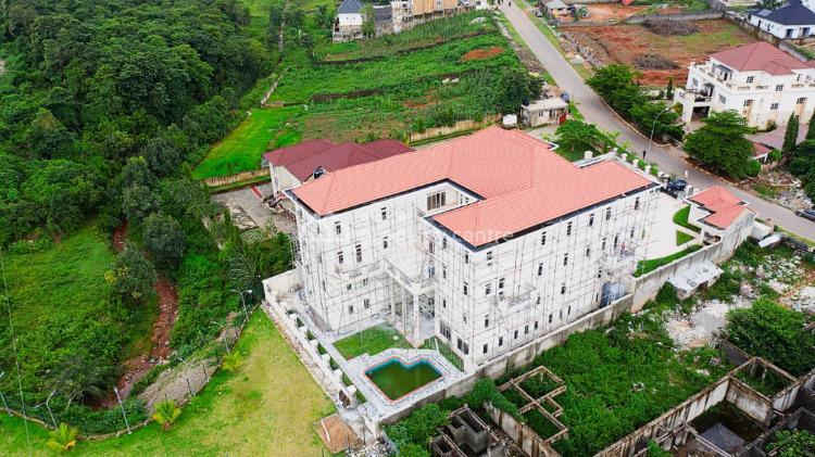 Mansion Villa Sitting on 3000 Sqm Plot of Land, Guzape District, Abuja, Detached Duplex for Sale