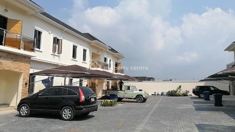 Beautiful 2 Bedroom Terrace with a Bq, By General Paint, Sangotedo, Ajah, Lagos, House for Sale