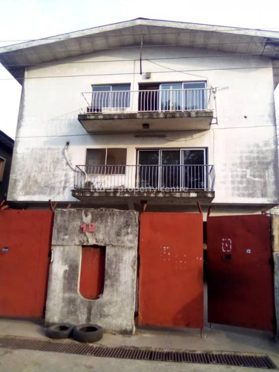 a Block of 6 Flats, Onike, Yaba, Lagos, Block of Flats for Sale