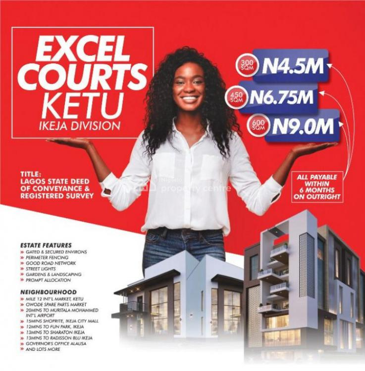 Land with Registered Survey, Excel Gardens, Alausa, Ikeja, Lagos, Mixed-use Land for Sale