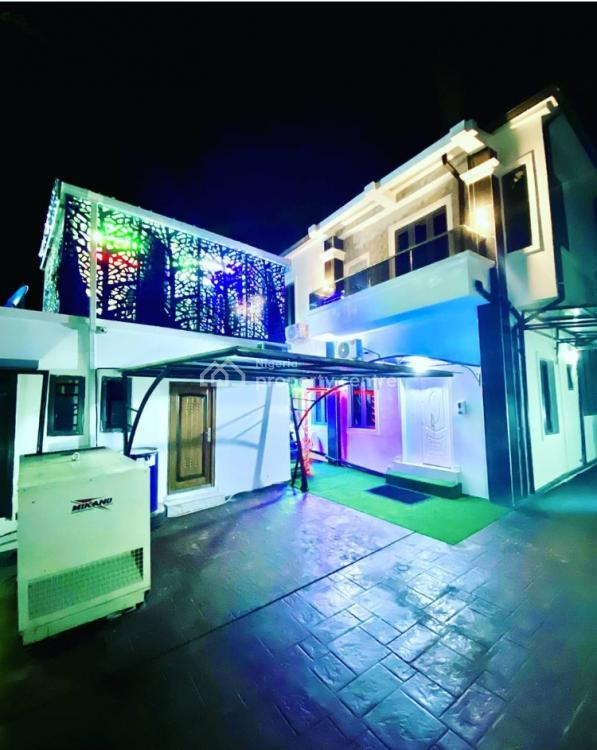 Exquisitely Furnished 6 Bedrooms Mansion with Roof Top Lounge Available, Osapa London, Lekki, Lagos, Detached Duplex for Sale