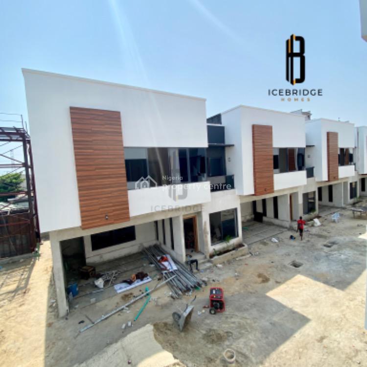 Exquisitely Built Four (4)bedroom Terrace Duplex, Osapa, Lekki, Lagos, Terraced Duplex for Sale