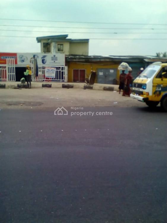 Commercial 4 Plot of Land Together Facing Major Road, Akowonjo Major Road, Akowonjo, Alimosho, Lagos, Commercial Land for Sale