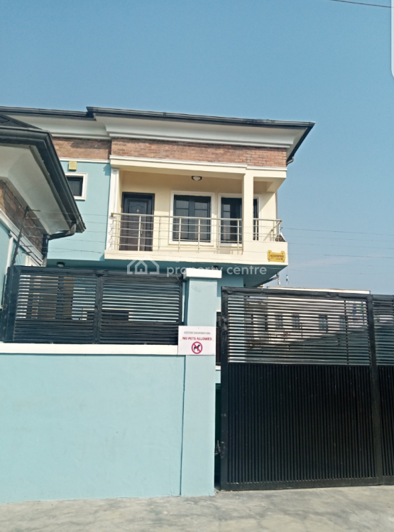 4 Bedroom Semi Detached Duplex (two in The Compound), Off Orchid Road, Lekki, Lagos, Semi-detached Duplex for Rent