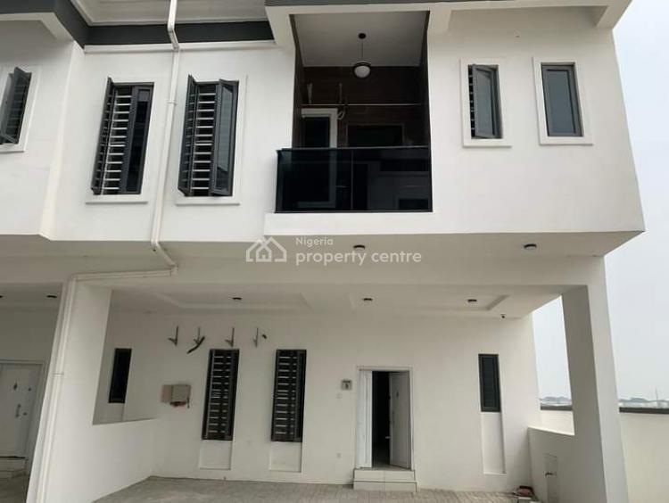 Newly Build 4 Bedroom Terrace, Orchid Road Second Gill Gate Lekki /ajah, Lekki Expressway, Lekki, Lagos, Terraced Duplex for Sale