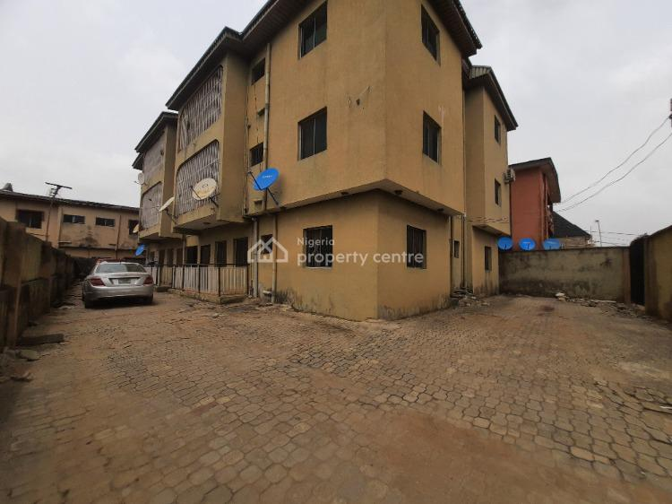 Neatly Used 6 Units of 3 Bedrooms Flat, Ago Palace Way, Okota, Isolo, Lagos, Block of Flats for Sale