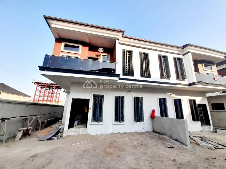 4 Bedroom Semi Detached Duplex with 24hrs Electricity, By Chevron Toll Gate, Lekki, Lagos, Semi-detached Duplex for Sale