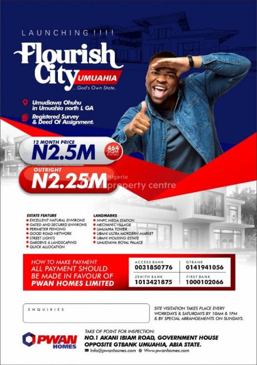 Registered Survey and Deed of Assignment, Flourish City, Umuahia, Abia, Mixed-use Land for Sale
