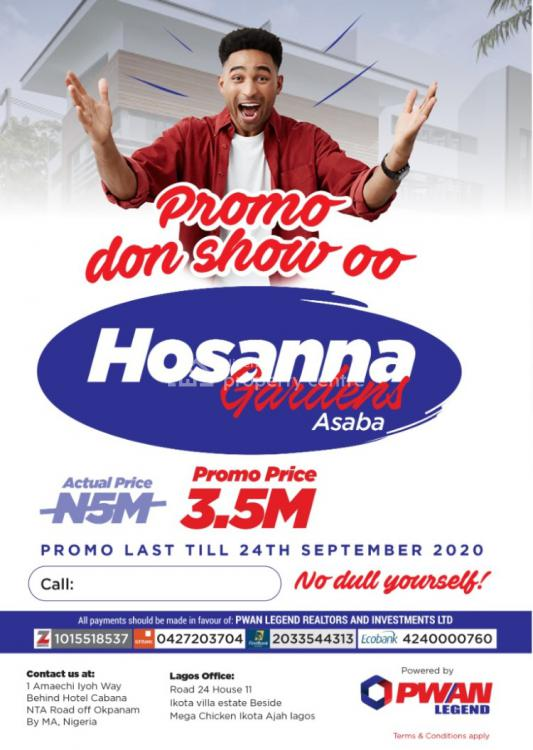Registered Survey and Deed of Assignment, Hosanna  Gardens, Asaba, Delta, Mixed-use Land for Sale
