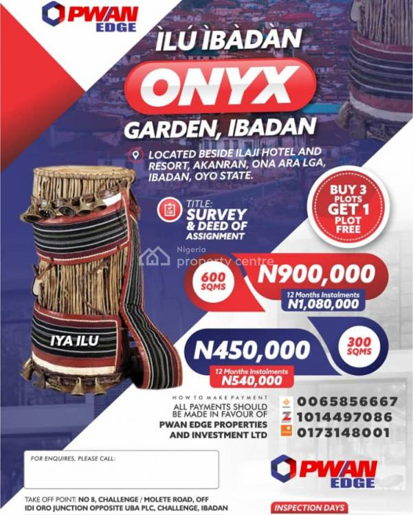 Registered Survey and Deed of Assignment, Onyxx Garden Ibadan, Ona Ara, Oyo, Mixed-use Land for Sale