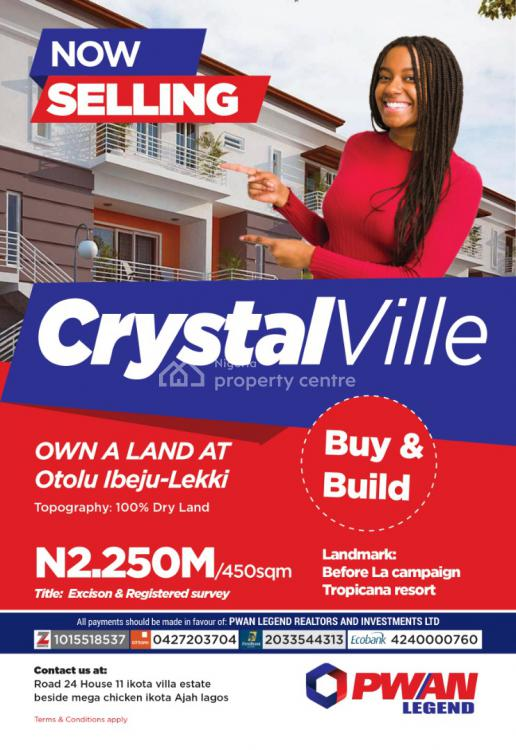 Excision and Registered Survey, Crystalville, Ibeju Lekki, Lagos, Mixed-use Land for Sale