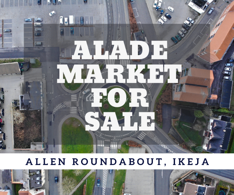 The Popular Shopping Complex, Alade Market, Allen, Ikeja, Lagos, Commercial Land for Sale