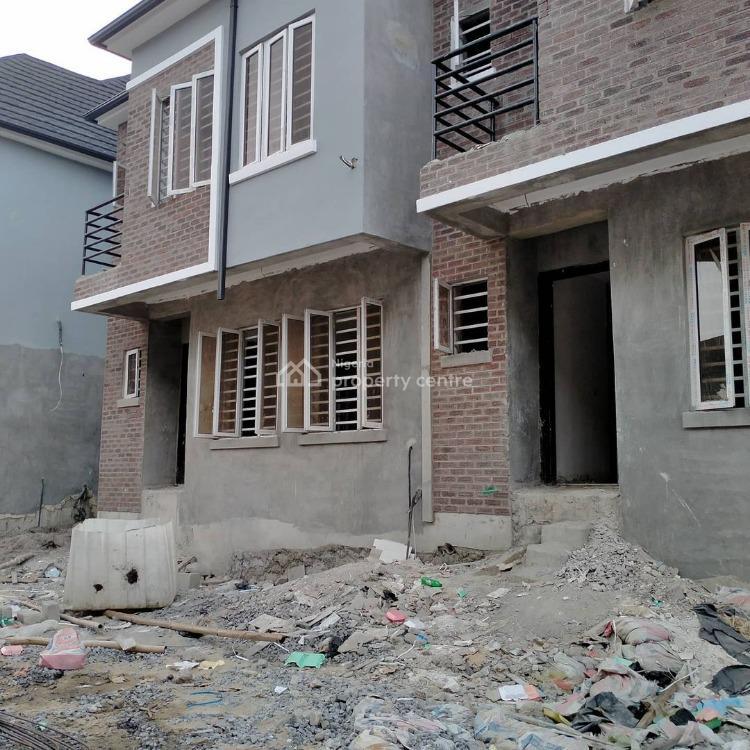4 Bedroom Terrace Duplex with Bq with 24hr Light, Orchid, Lekki, Lagos, Terraced Duplex for Sale