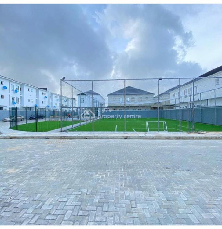 Fully Serviced 4 Bedroom Duplex with Pool and Ball Court, Ikate, Lekki, Lagos, Semi-detached Duplex for Rent