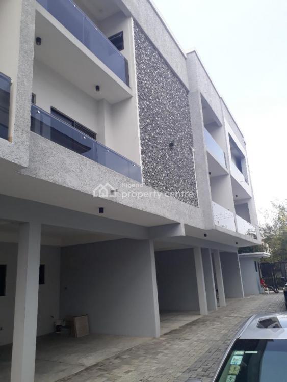 New Serviced 4 Bedroom Townhouse, Off Fola Osibo Street, Lekki Phase 1, Lekki, Lagos, Terraced Duplex for Sale