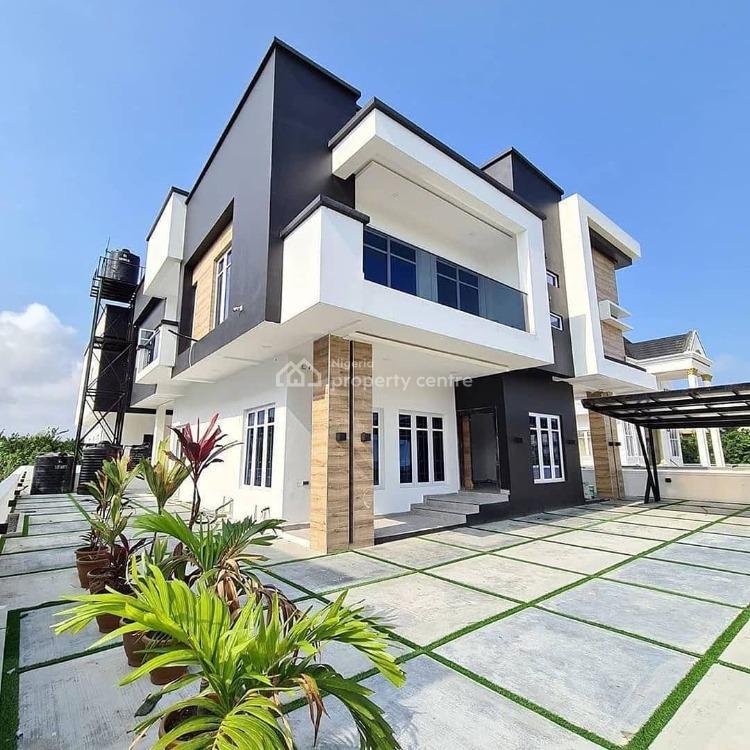 Exquisitely Built 5 Bedroom Detached Duplex with Bq, 2nd Toll Gate, Lekki, Lagos, Detached Duplex for Sale