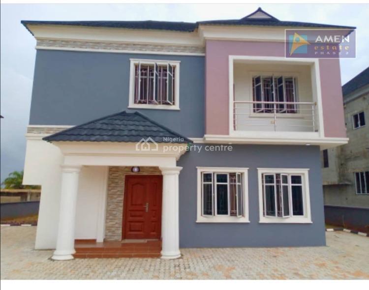 3 Bedroom Detached Duplex with Bq, Amen Phase 2, Eleko, Ibeju Lekki, Lagos, Detached Duplex for Sale