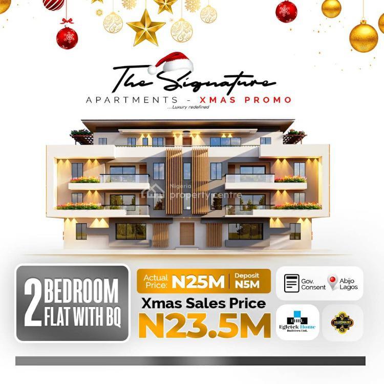 2 Bedroom Apartments, Signature Estate, Abijo, Lekki, Lagos, Block of Flats for Sale