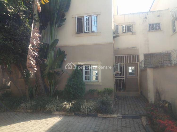 a Semi Detached 4 Bedroom Duplex with Its Own Gate, Maitama District, Abuja, Semi-detached Duplex for Rent
