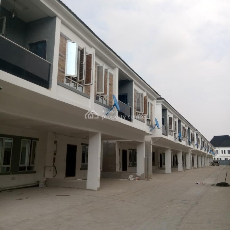 Lovely 4 Bedroom Terrace, Orchid Road, Ikota, Lekki, Lagos, Terraced Duplex for Rent