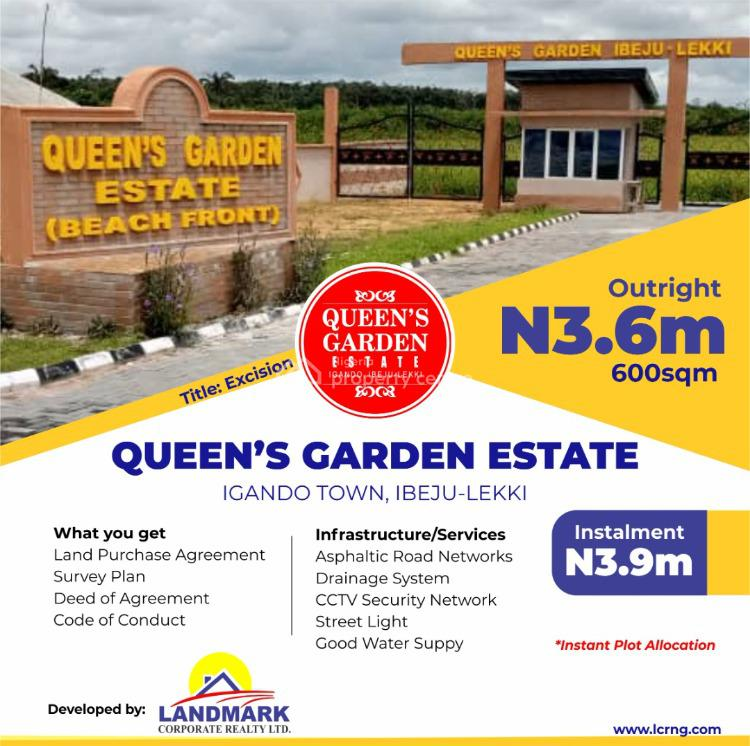 Land with Excision, Queens Gardens Estate Igando Town, Ibeju Lekki, Lagos, Mixed-use Land for Sale
