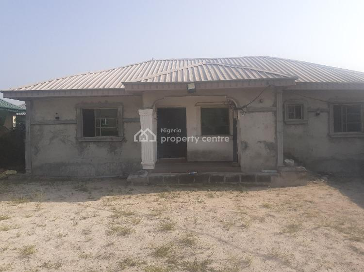 3 Bedroom Bungalow in a Self Compound, New Road, Awoyaya, Ibeju Lekki, Lagos, House for Rent