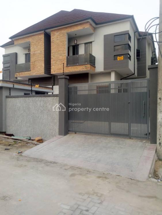 Newly Built 4 Bedrooms Semi Detached Duplex with Bq, By 2nd Toll Gate, Chevron, Lekki, Lagos, Semi-detached Duplex for Rent