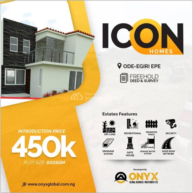 Land, Icon Home Ode Egiri, Epe, Lagos, Mixed-use Land for Sale