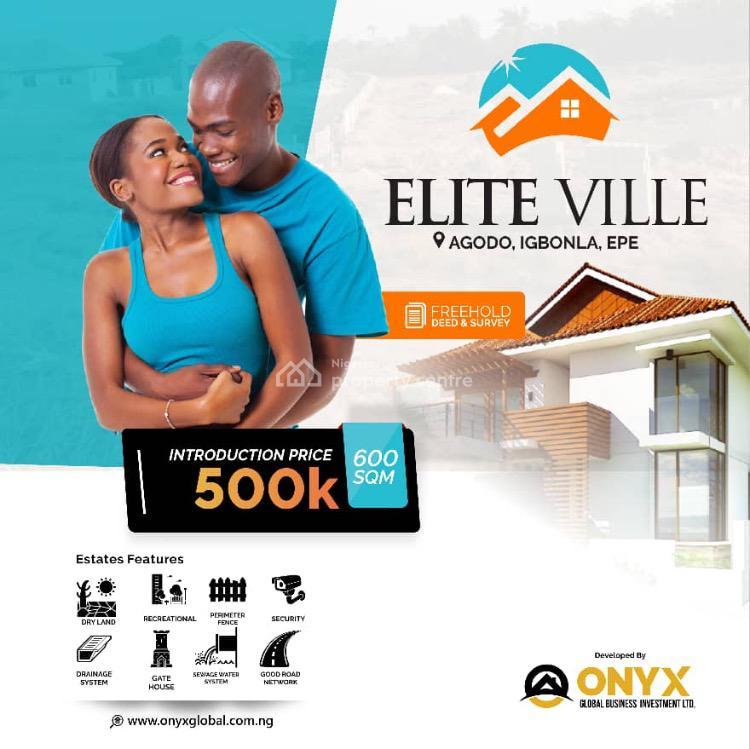 Land, Agodo Igbonla  at Elite Ville, Epe, Lagos, Mixed-use Land for Sale