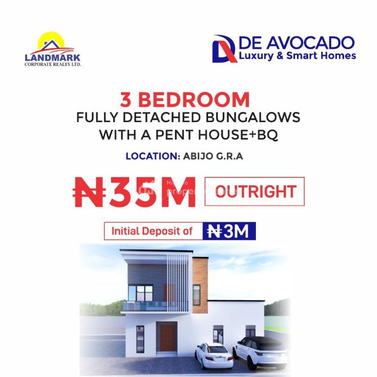 Luxury 3 Bedroom Fully Detached Bungalow with C of O, Gra, Abijo, Lekki, Lagos, Detached Bungalow for Sale