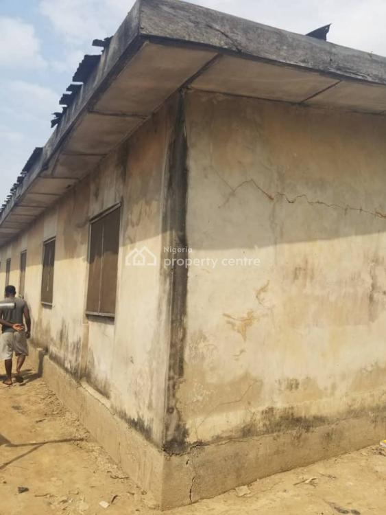 a Bungalow to Be Demolished Or Renovated on Half Plot, Oshogun, Alapere, Ketu, Lagos, Detached Bungalow for Sale