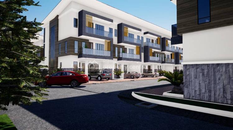 Luxury 2 Bedroom Terrace, Behind Nicon Town, Ikate, Lekki, Lagos, Terraced Duplex for Sale