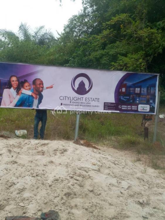 Buy Back Investment Plan on Citylight Estate, Owode, Idasho, Ibeju Lekki, Lagos, Mixed-use Land Joint Venture