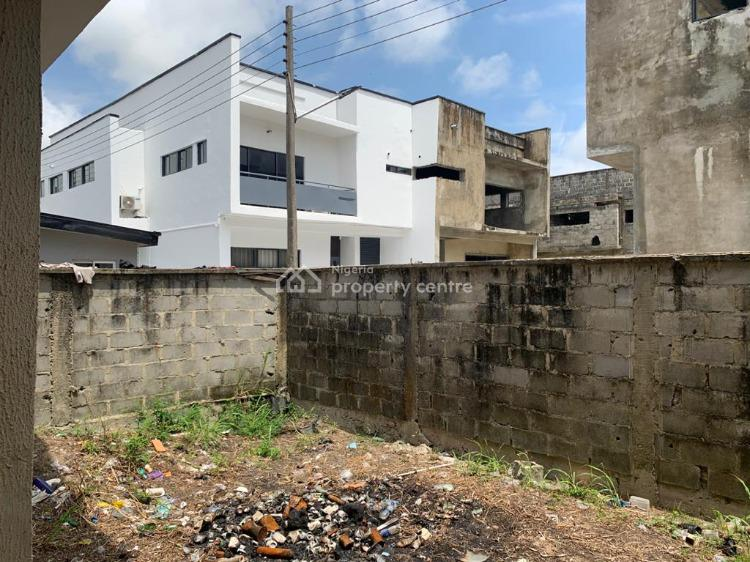 a Wing of 4 Bedroom Semi-detached Duplex (carcass), Diamond Estate, Sangotedo, Ajah, Lagos, Semi-detached Duplex for Sale