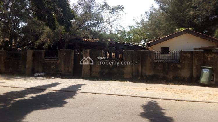 Plot with Dilapidated Structure, Pope John Paul Street, Off Gana Street, Maitama, Maitama District, Abuja, Mixed-use Land for Sale