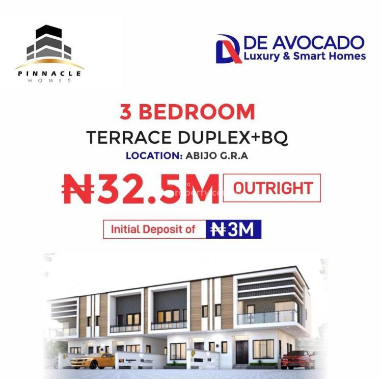 3 Bedroom Fully Detached Bungalows with Penthouse + Bq, Abijo, Lekki, Lagos, Semi-detached Duplex for Sale