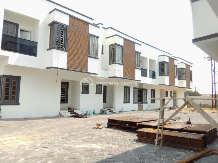 4 Bedroom Terrace with Bq in a Mini Court, Ajah, Lagos, Terraced Duplex for Sale