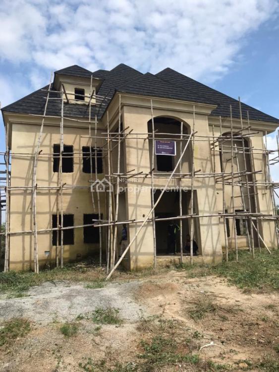 Luxury 6 Bedroom Carcass Penthouse Duplex, Efab Queens Estate, Gwarinpa, Abuja, Detached Duplex for Sale