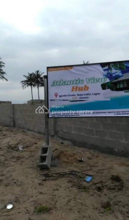 Gazetted Commercial Plot of Land, Atlantic Hubs Estate, Eleko, Ibeju Lekki, Lagos, Commercial Land for Sale